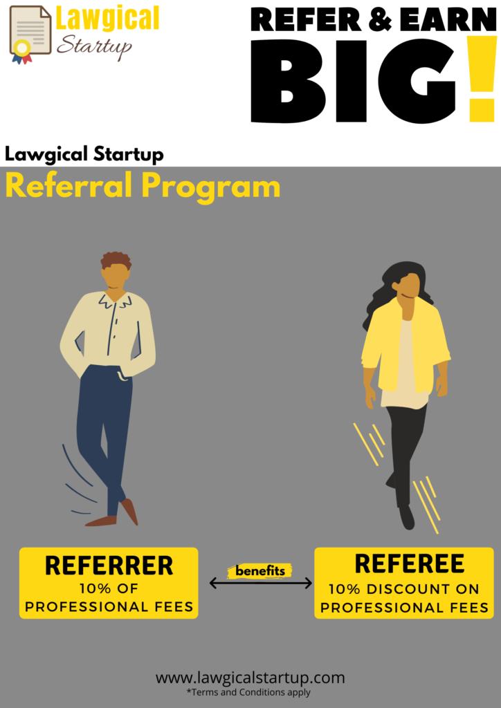 Lawgical Startup referral program