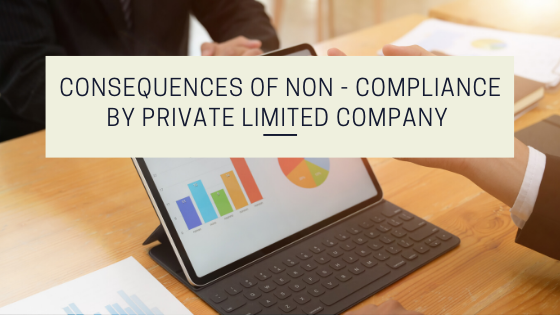Consequences of Non - compliance by Private Limited Company