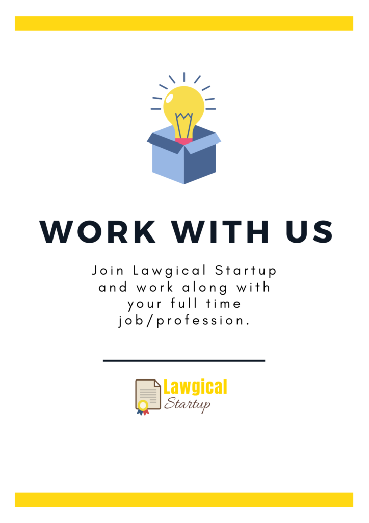 Work with us - Lawgical Startup