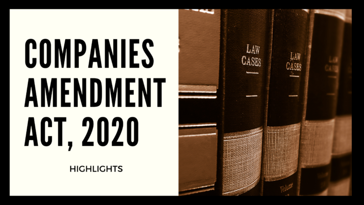 Companies Amendment Bill, 2020